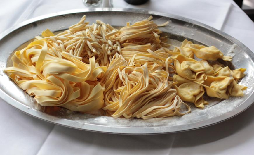 Restaurant Frankfurt Atelier - hausgemachte Pasta und Tortellini