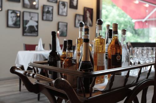 italienische Restaurant Frankfurt Atelier - hochweritge Spirituosen